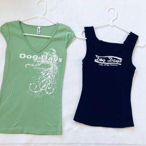Lake of the Ozarks Logo Dog Days Bar T-Shirts Med